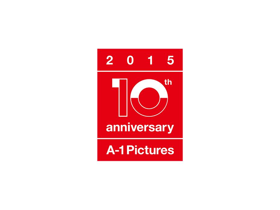 Tsuyoshi Kusano Design Co., Ltd. // A-1 pictures 10th anniversary LOGO